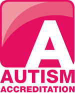 We have been awarded the Autism Accreditation mark.